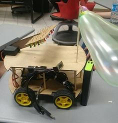Remote control car with Arduino and Bluetooth