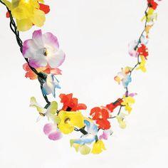 Light Up Flower Lei Garland - OrientalTrading.com