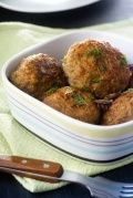 Meatballs Recipe : If you're in the mood for spaghetti and meatballs don't buy the fake stuff in the can. In under 30 minutes you can have homemade meatballs that aren't loaded with fillers and preservatives. You can eat these as is, or you can toss them in marinara sauce for a few minutes. If you have leftovers, pop a few in a bun for a delicious meatball sub.