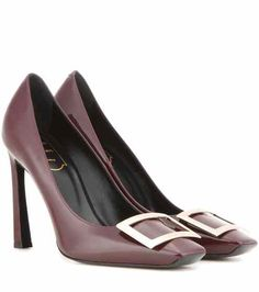Décolleté Belle Vivier Trompette patent leather pumps | Roger Vivier