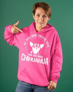 All Dogs Were Created Equal Then God Made Chihuah - Heliconia veterans day treats, kindness day, national history day projects #veteransdayrelays #veteransdayspecial #veteransdaysale, dried orange slices, yule decorations, scandinavian christmas National History Day, Veterans Day Thank You, Yule Decorations, Orange Slices, Scandinavian Christmas, Equality, Hooded Sweatshirts, Graphic Sweatshirt, Treats