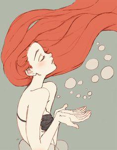 Imagen de ariel, mermaid, and disney