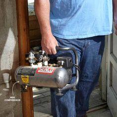 air compressor and hose tips for the pros