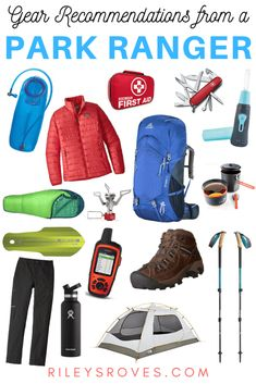 Best Backpacking Gear: A Park Ranger's Recommendations