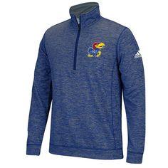 Men's Adidas Kansas Jayhawks Sideline Pullover, Size: