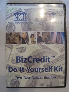 BizCredit Do-It-Yourself Kit by NCH:  DVD and Data Disc: Nevada, Business #TextbookBundleKit