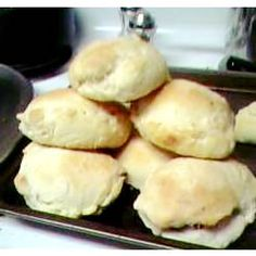 Bierocks for Oktoberfest (sweet dinner rolls stuffed with ground beef, onion and cabbage) I remember making these with my Grannie and my mother a few times a year. Always  in large batches, and always great memories!