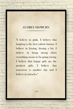 Audrey Hepburn Quote by CreativeArtandInk