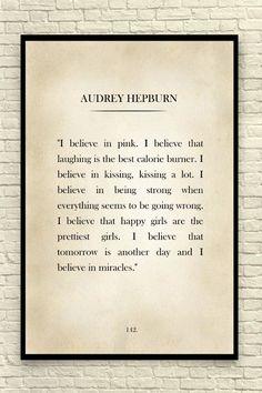 Audrey Hepburn Quote by CreativeArtandInk