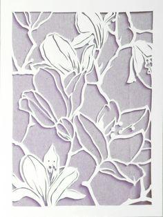 Paper Cutting by Megan Wu, via Behance