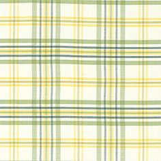 COUNTRY CLUB PLAID, Green, W8301, Collection Signature Collection from Thibaut