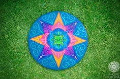 Mandala do renascimento e Amor eterno.. Por Imagine Utopia.