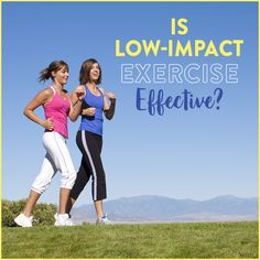 Low impact doesn't mean low intensity! Check out the benefits of low impact exercise and how you can incorporate low impact exercise into your routine!