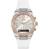 Buy Guess Ccnnect GUESS CONNECT Ladies Bluetooth White & Rose Gold 41mm Smartwatch Watch £249 from Women's Watches range at #LaBijouxBoutique.co.uk Marketplace. Fast & Secure Delivery from The Watch Superstore online store. Women's Watches, Smartwatch, Bluetooth, Connection, Delivery, Range, Rose Gold, Store, Lady