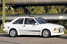 1984 Ford Escort RS Turbo Series1. Strictly for the refined rudeboys etc