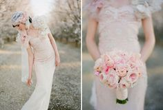 Seven Flowers and their Inspirations for Wedding Gowns | Mine Forever
