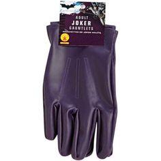 Adult Joker Costume Gloves