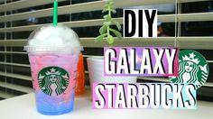 DIY Room Decor: Galaxy in a Starbucks Cup!