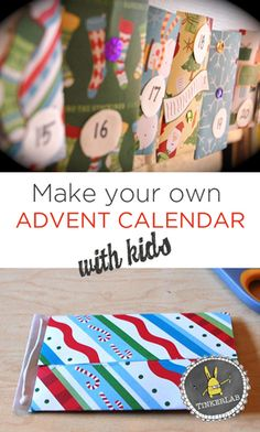 {This post was first shared in November, 2010…and we've updated it for 2013!} When the winter holidays come around, our family gets into a deep DIY groove. How about you? In that spirit, making an advent calendar is a great way to introduce children to the less commercial side of Christmas through hands-on making. Although …