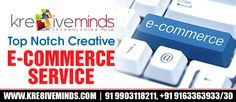 Shape your business prospects with the efficient eCommerce service. At http://www.kre8iveminds.com we offer the best and top notch eCommerce service at an affordable cost.