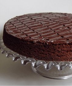 Delicious Chocolate Cake – Easy and Simple Cooking Recipes Fondant Cakes, Cupcake Cakes, Chocolat Recipe, Nutella Mousse, Tasty Chocolate Cake, Cake Creations, Love Food, Cake Recipes, Sweet Treats