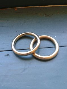Round Brass Ring by NinaRaizel on Etsy, $18.00