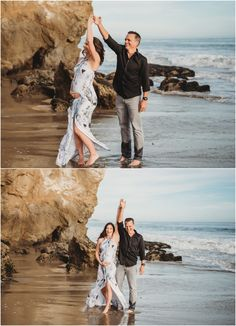 Jan 2020 - El Matador Beach Maternity session in Malibu. El Matador State Beach is a gorgeous backdrop for maternity and engagement sessions in Malibu. Couple Maternity Poses, Beach Maternity Pictures, Sunset Maternity Photos, Couple Pregnancy Photoshoot, Outdoor Maternity Photos, Family Maternity Photos, Maternity Session, Beach Pregnancy Photos, Family Photos