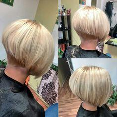 Bob blonde hair