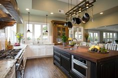 Embracing the Outdoors traditional kitchen