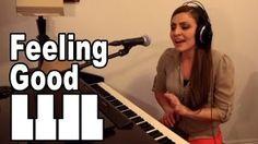 Feeling Good - Nina Simone, Michael Buble - Cover by Missy Lynn Missy Lynn, Best Piano, Norah Jones, Nina Simone, Piano Cover, Michael Buble, Feel Good, Singer, Feelings
