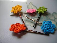 Blooming Hairpins // Free Crochet Pattern by Melmaria Designs