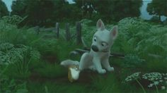 """I recommend this disney movie """"bolt"""". I love the hamster Rhino! Lol"""