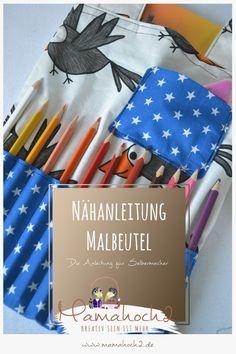 Nähanleitung – Stiftetasche – Maltasche – Malbeutel 30
