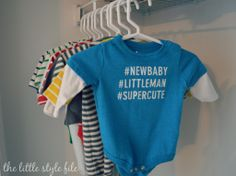 dreft laundry detergent #preparingforbaby via The Little Style File