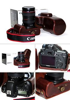 Retro DSLR Camera Leather Case  http://www.dsstyles.com/camera-accessories/bags-and-cases.html