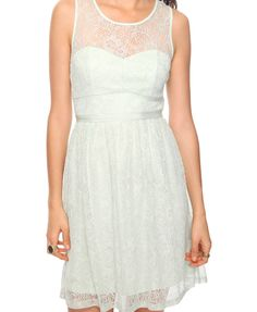 $24.80 white lace dress. wedding reception or spring/summer?
