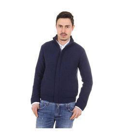 Mens hoodie jacket GIORGIO ARMANI 3135 Blu scuro - titalola.com