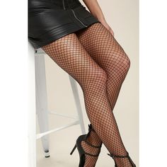 Smoldering Black Fishnet Tights ($11) ❤ liked on Polyvore featuring intimates, hosiery, tights, black, fishnet stockings, sexy tights, fishnet hosiery, sexy hosiery and harlequin tights