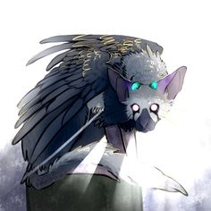 this is the mythical beast from the newly released game, the last guardian he's so darn cute. Fantasy Creatures, Mythical Creatures, Character Inspiration, Character Design, Manga Dragon, Shadow Of The Colossus, T Art, Game Art, Illustrations