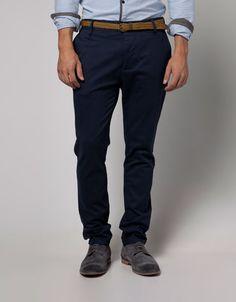 Bershka Armenia - Chino trousers with belt