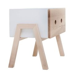 Ottone Bedside Table - Oak - alt_image_one
