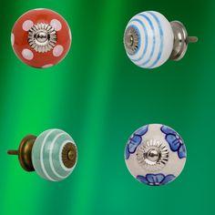 Decorative Door Knobs, Ceramic Door Knobs, Draw Knobs, Knobs And Pulls, Vintage Ceramic, The Selection, Doors, Ceramics, Random