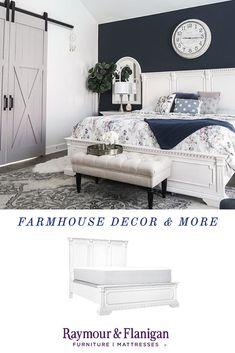 Master Bedroom Makeover, Bedroom Inspo, Bedroom Ideas, Dream Bedroom, Home Bedroom, Bedroom Furniture, Boudoir, Farmhouse Bedroom Decor, Home Remodeling