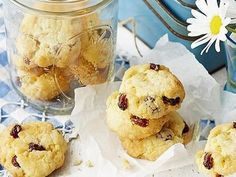 Rice Bubble and Sultana Biscuits recipe