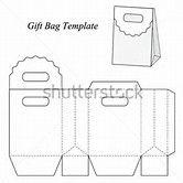 Resultado de imagem para Gift Bag Template