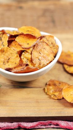 This simple recipe gives you all the crunchy satisfaction of a potato chip, with no frying required.