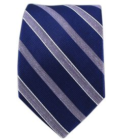 Archive Stripe - Navy/Lilac (Linen Skinny) | Ties, Bow Ties, and Pocket Squares | The Tie Bar
