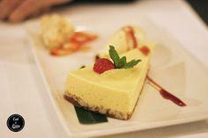 Key lime pie con helado de coco - restaurante Amasia