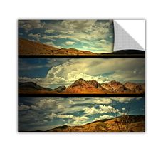 ArtApeelz 'Saving Skis' by Mark Ross Photographic Print Removable Wall Decal