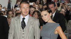 One of my fave couples!!  Posh and Becks